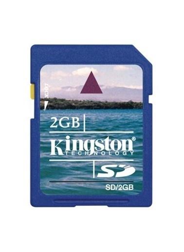 Kingston Kıngston 2 Gb Secure Dıgıtal Hafıza Kartı Sd/2Gb Renkli